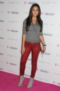 Эммануэль Шрики, фото 1673. Emmanuelle Chriqui Launch of Google Music at Mr. Brainwash Studios on November 16, 2011 in Los Angeles, California, foto 1673