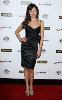 Olga Kurylenko @ G'Day USA Austrailia Week 2012 Black Tie Gala, January 14, 2012 HQ x 2