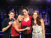 Sara Underwood,Adrianne Curry,&amp;amp; Candace Bailey on AOTS Set Twitpic 2/2/12