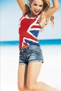 Джери Холливел, фото 3254. Geri Halliwell The Union Jack' Collection Photoshoot, foto 3254