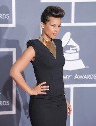 Алиша Киз (Алисия Кис), фото 3082. Alicia Keys 54th annual Grammy Awards - 12/02/2012 - Red Carpet, foto 3082