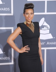 Алиша Киз (Алисия Кис), фото 3081. Alicia Keys 54th annual Grammy Awards - 12/02/2012 - Red Carpet, foto 3081