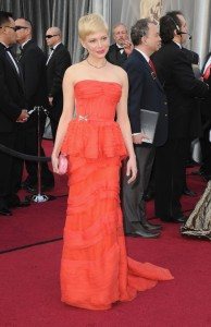 Мишель Уильямс, фото 863. Michelle Williams 84th Annual Academy Awards in LA, 26.02.2012, foto 863
