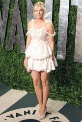 Мария Шарапова, фото 6410. Maria Sharapova 2012 Vanity Fair Oscar party - 26.2.2012, foto 6410