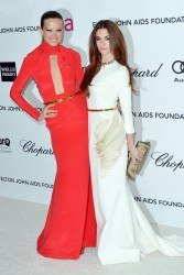 Петра Немсова, фото 4058. Petra Nemcova Elton John AIDS Foundation Academy Awards Party in LA, 26.02.2012, foto 4058
