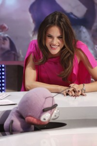 Алессандра Амброзио, фото 8162. Alessandra Ambrosio On 'El Hormiguero' TV Show in Madrid, 05.03.2012, foto 8162