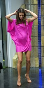 Алессандра Амброзио, фото 8187. Alessandra Ambrosio On 'El Hormiguero' TV Show in Madrid, 05.03.2012, foto 8187