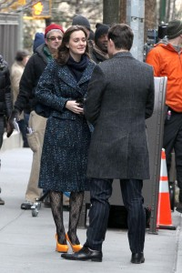 Лейгтон Мистер, фото 6878. Leighton Meester On the Set of 'Gossip Girl' in Manhattan - 05.03.2012, foto 6878