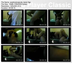 8fce97181458422 Awek Melayu Cute Barai (Video Aksi Seks Bertudung)