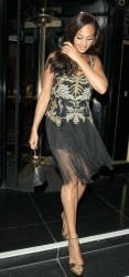 Alesha Dixon at the Britain's Got Talent Final After Party in London 12th May x7