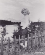 Marilyn Monroe in Alberta, Canada For River of No Return - Summer 1953