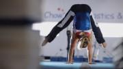 Shawn Johnson Doing Gymnastics For Hy-Vee