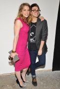 Anna Chlumsky - Christian Siriano fashion show in New York 09/08/12