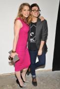 Anna Chlumsky - Christian Siriano fashion show in New York 09/08/12